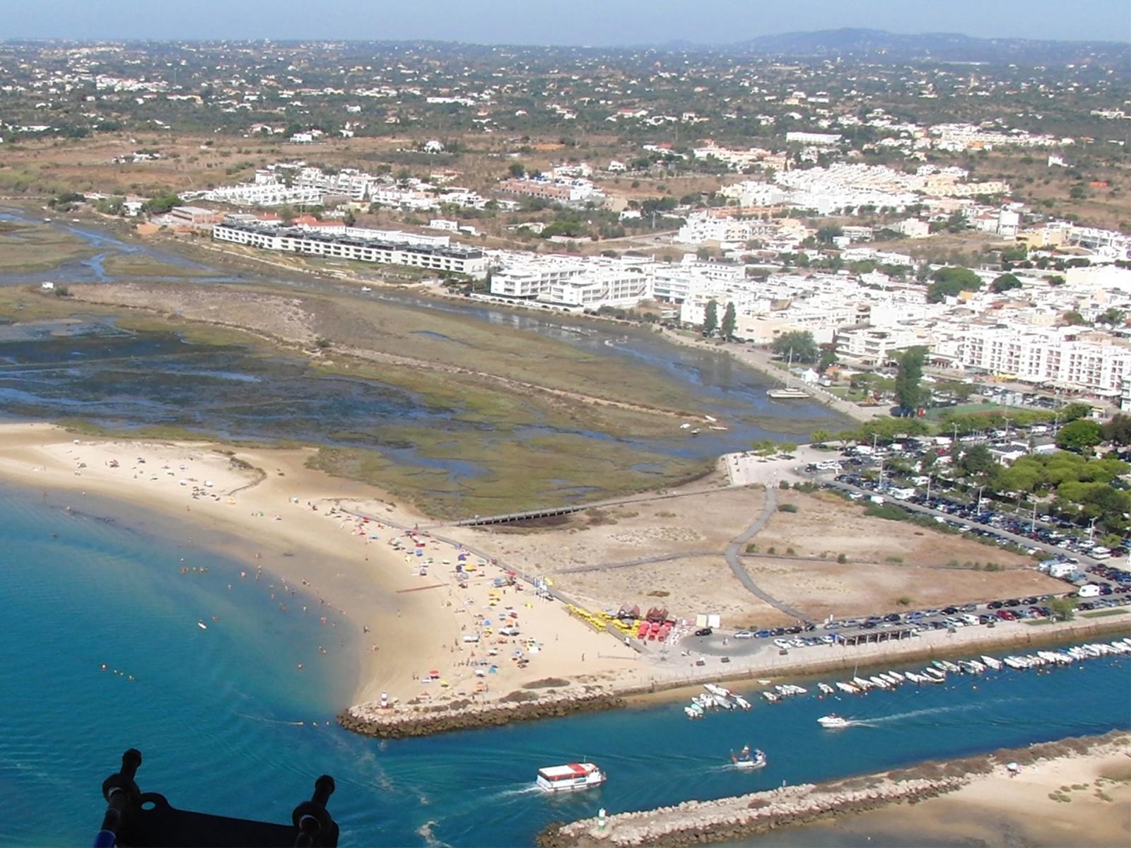 Praia Da Fuseta Ria Algarve Portal