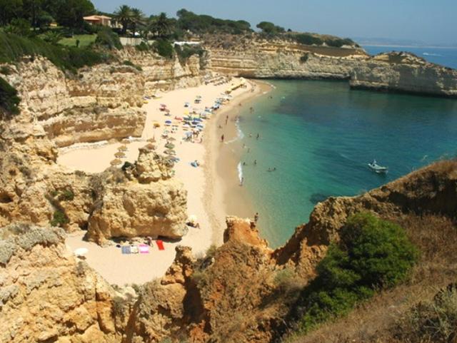 Praia Da Cova Redonda Algarve Portal