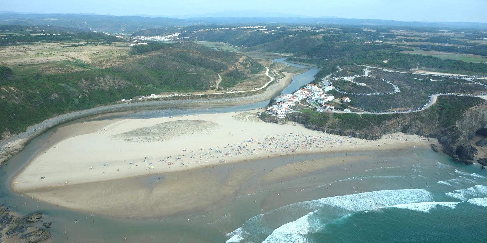 Praia de odeceixe mar algarve portal