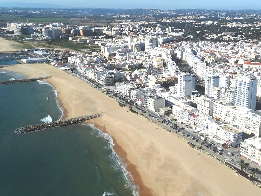 Praia De Quarteira Algarve Portal