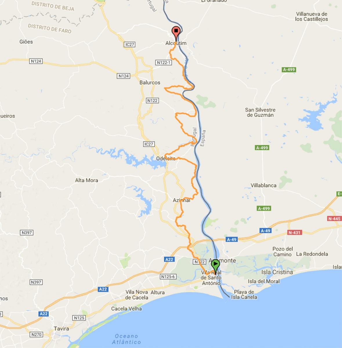 Grande Rota Do Guadiana Gr15 Algarve Portal