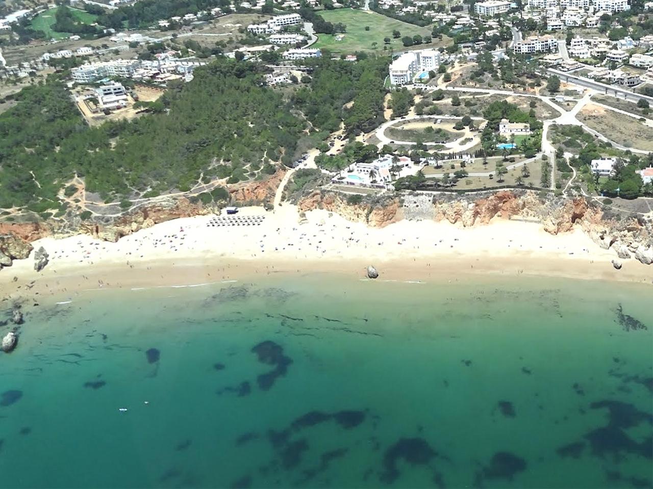 mapa praia do vau Praia do Vau   Mapa   Algarve Portal mapa praia do vau